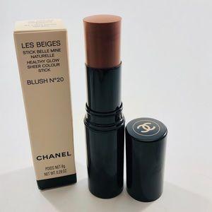 Chanel Les Beiges Sheer Colour Stick (Cream Blush)